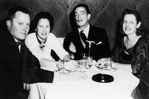 A.Reynolds Morse, Gala, Salvador Dalí und Eleanor Morse